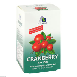 Cranberry Kapseln 400mg Sparpackung